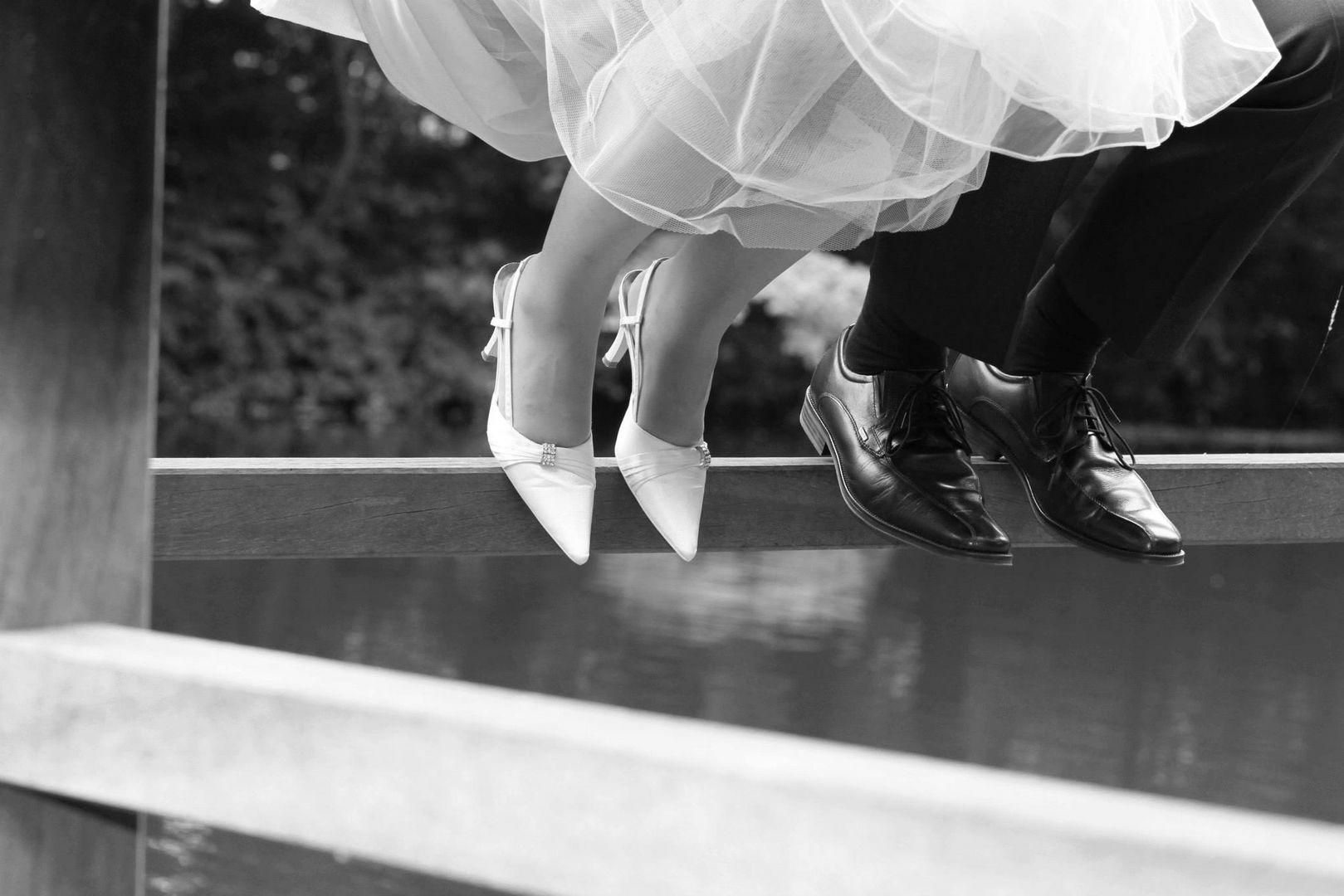 Pause beim Brautshooting
