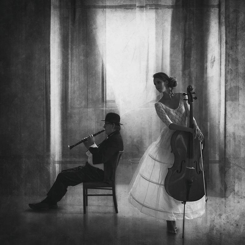 Pause für Cello