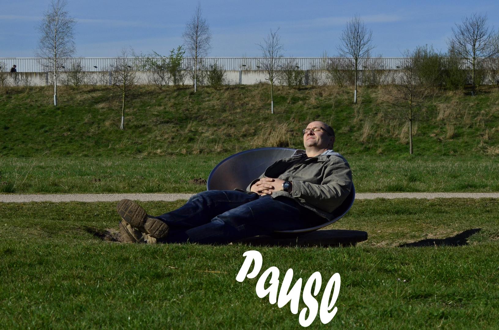 Pause - halb Zehn in Deutschland