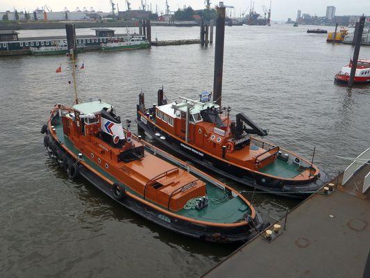 Pause im Hafen (Hamburger Hafen, 02.10.2012)