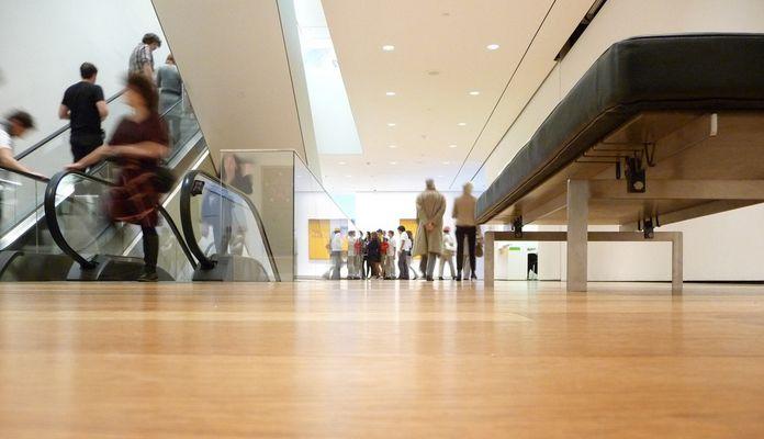 Pause im MoMA