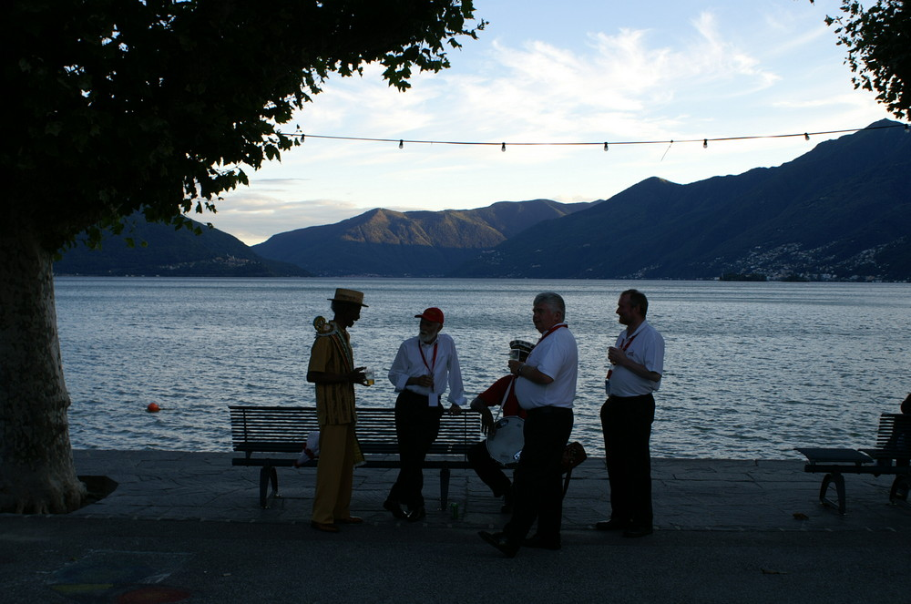 Pause in Ascona
