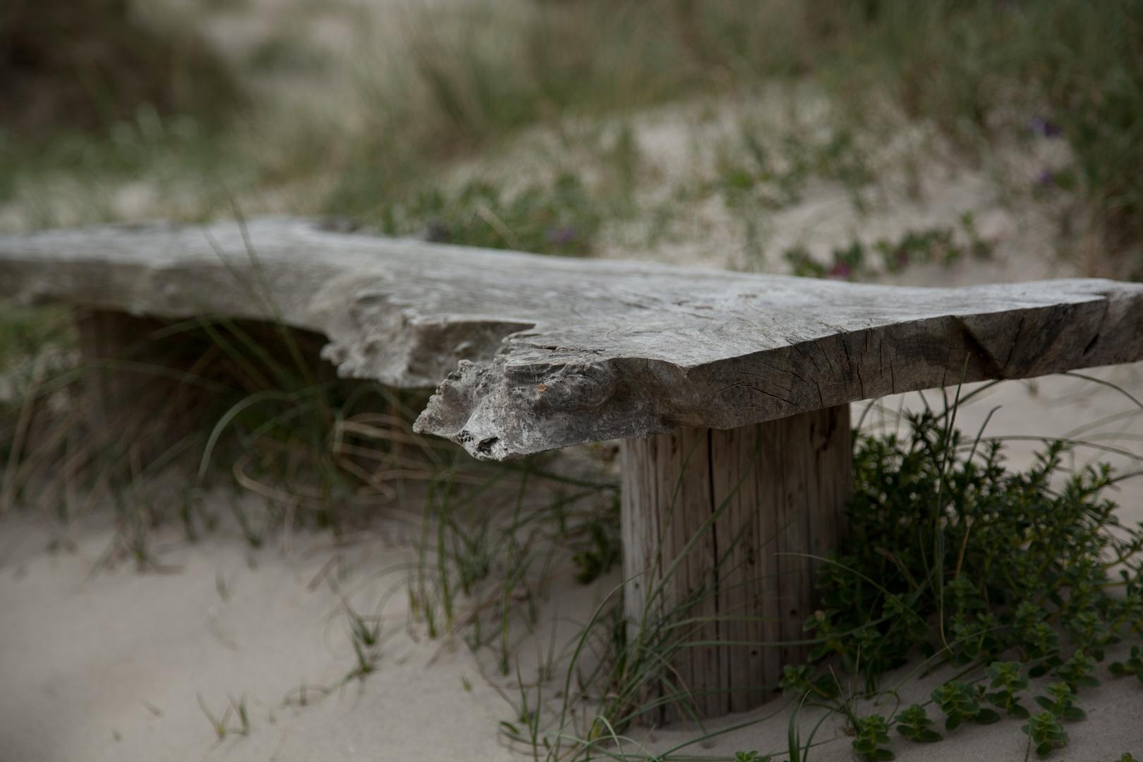 Pause in den Dünen