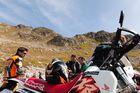 Pause in den schweizer Bergen