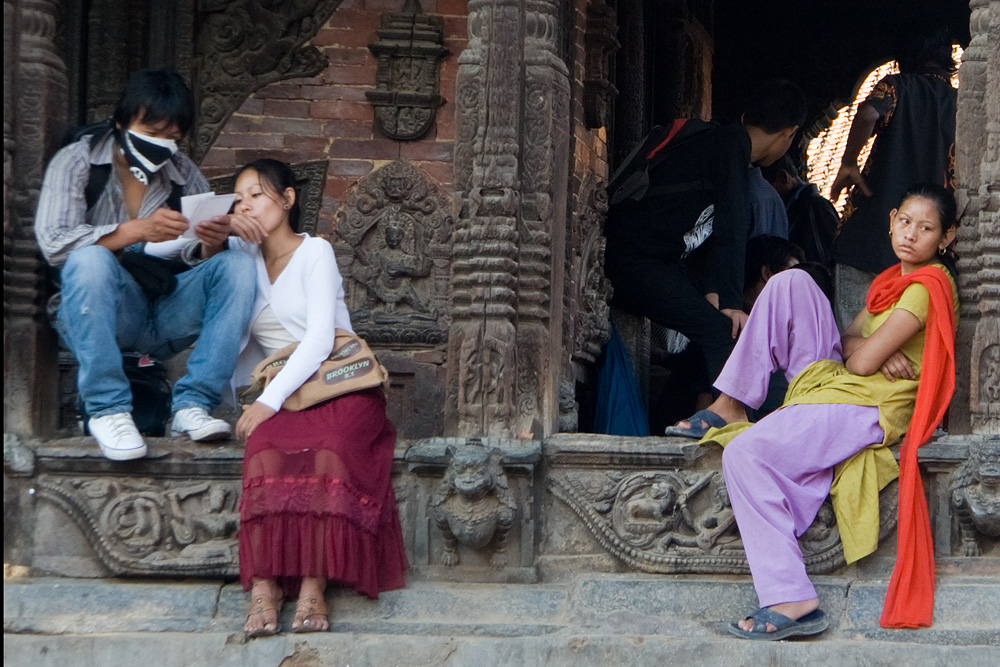 Pause in Patan
