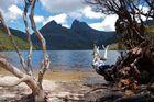Pause machen am Dove Lake