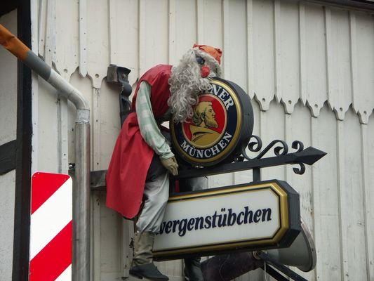 Pause oder Weihnachtsmann liebt Paulaner