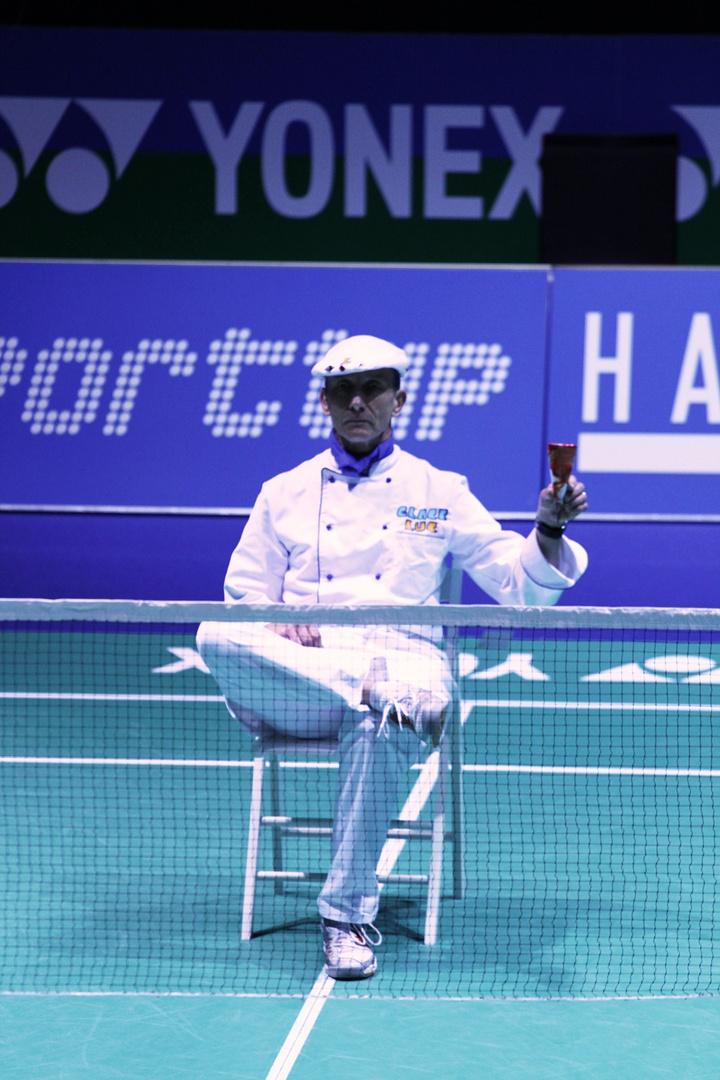 """Pauseneinlage"" Badminton Swiss Open 2013"