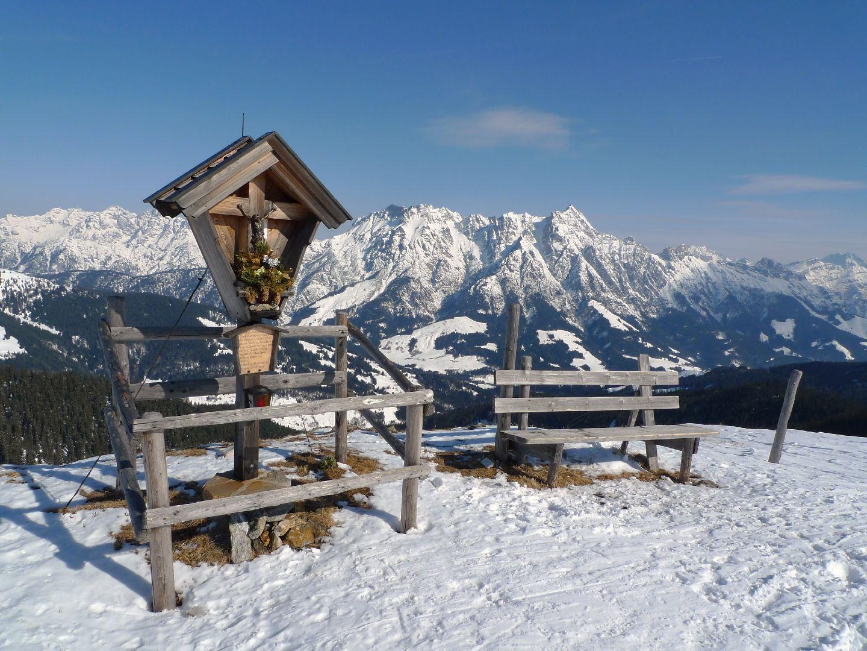 Pausenplätzchen oberhalb von Saalbach