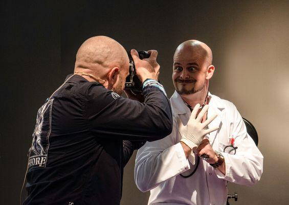 Pavel Kaplun und Matthias Schwaighofer auf der Photokina 2012