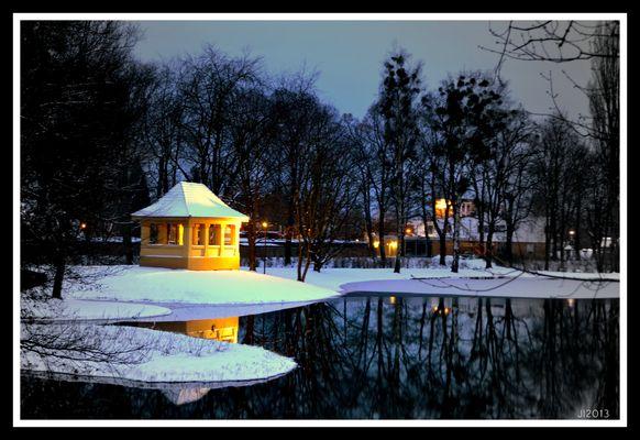 Pavelion im Schloßpark Senftenberg