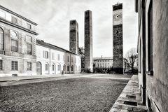 Pavia, Le tre torri