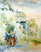 Pavillon im Arboretum