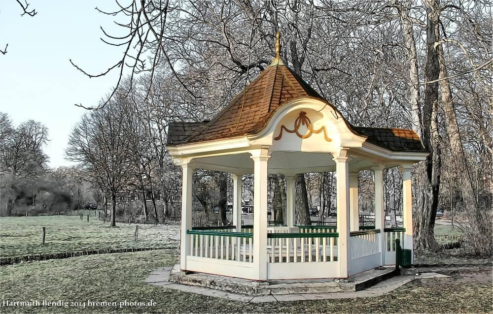 Pavillon im Bremer Bürgerpark