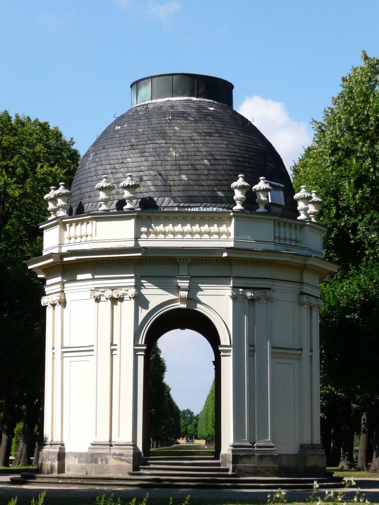 Pavillon in den Herrenhäuser Gärten in Hannover