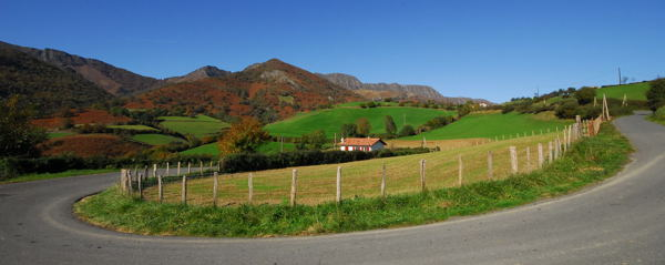 Pays basque en octobre