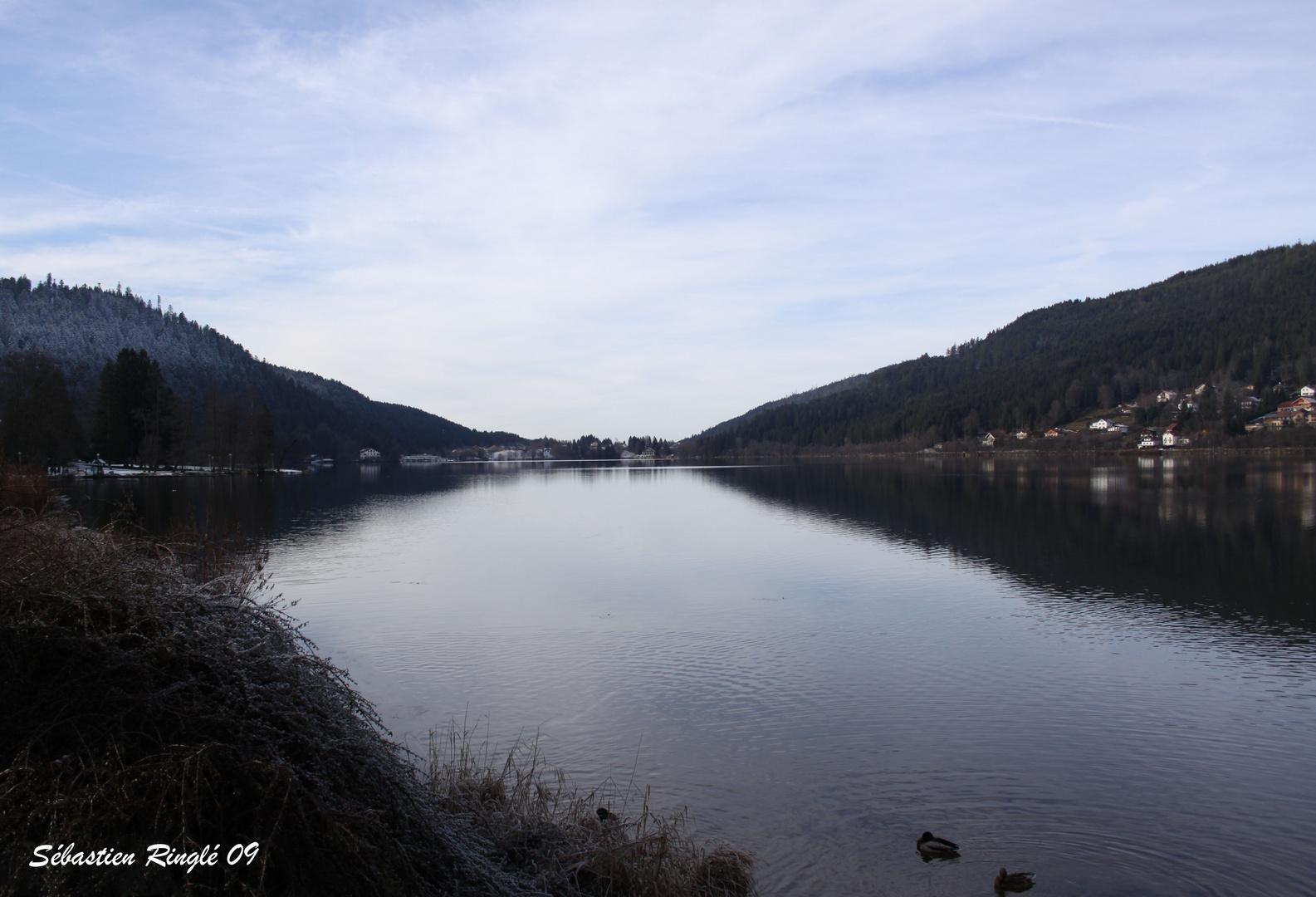 Paysage au Lac de Gerardmer