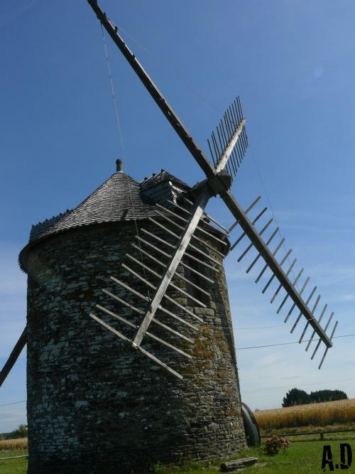 Paysage de Bretagne.