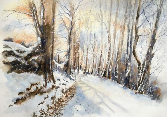 Paysage de neige (3)