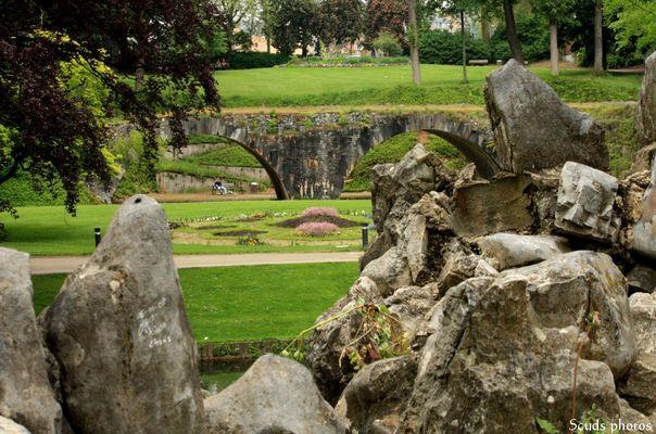 Paysage du parc de Namur