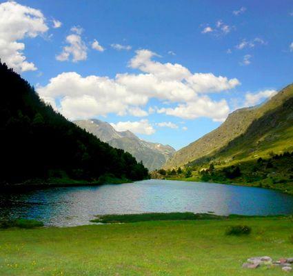Paysage d'un Lac