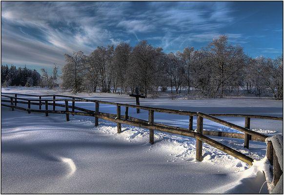 Paysage hivernal 4