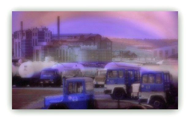 Paysage industriel des années 80...