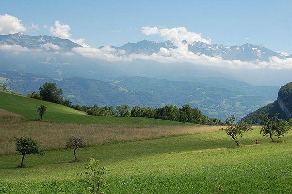 paysage montagnard !