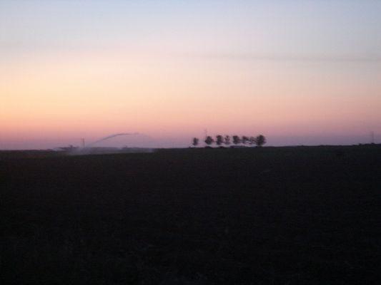 paysage nocturne
