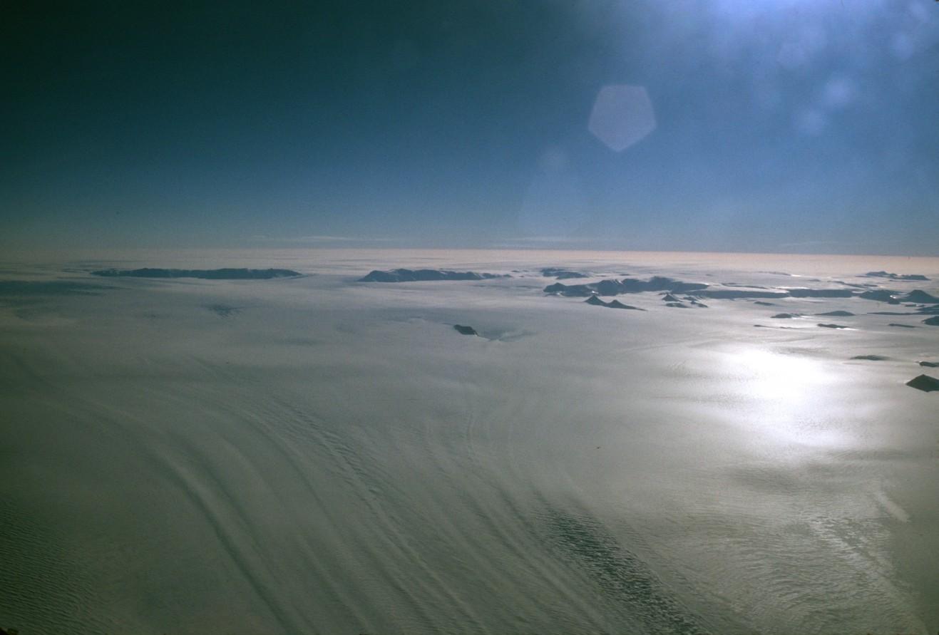 paysage sur l'ocean Antarctique