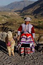Paysanne de la Vallée de la Colca, Pérou