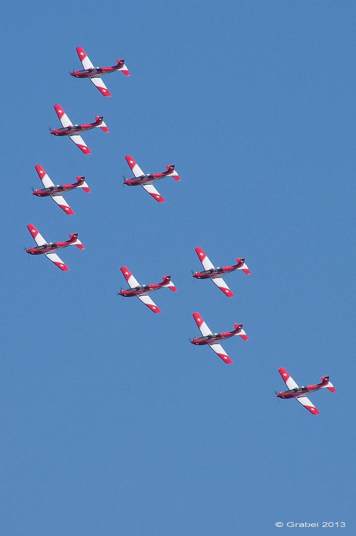 PC-7 Team - Swiss Air Force
