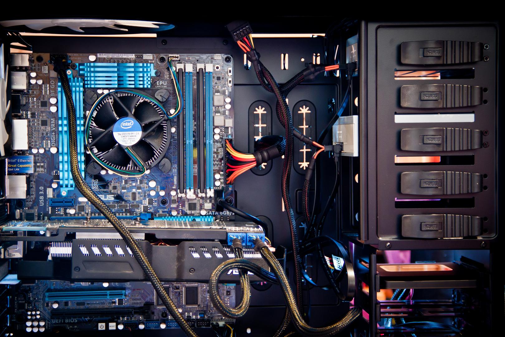 PC Innenleben - i5 2500K quadcore
