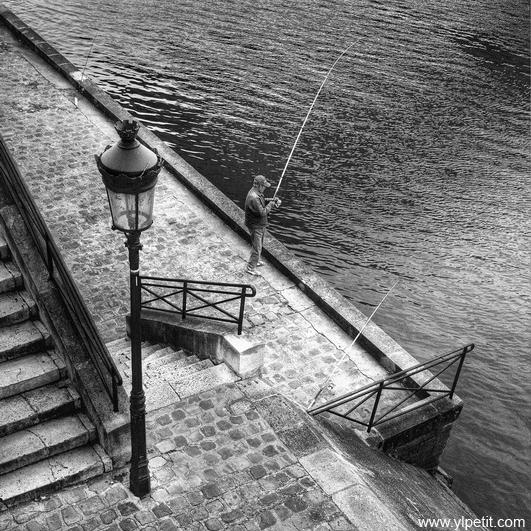 Pêche à Paris
