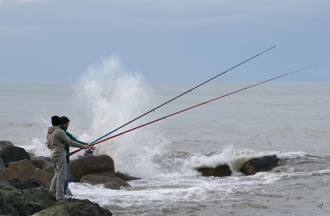 Pêche mouvementée ...