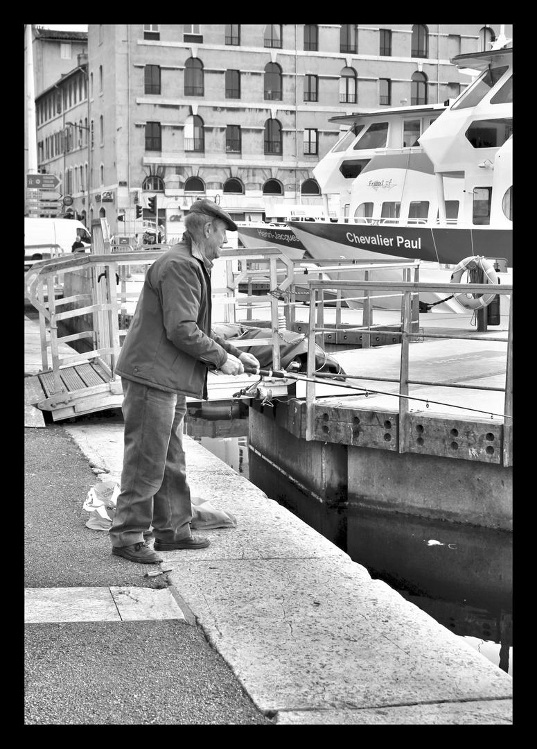 Pêcheur d'ancres - Marseille