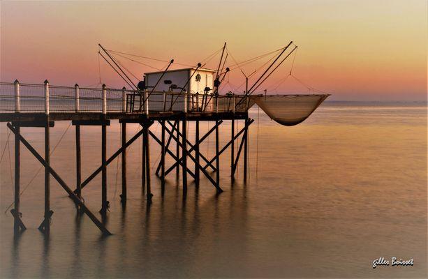 pêcheur de rosé du soir