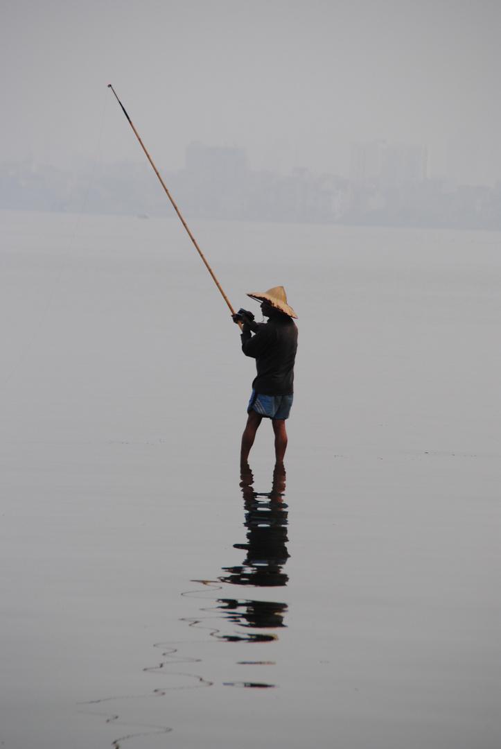 Pêcheur Hanoien