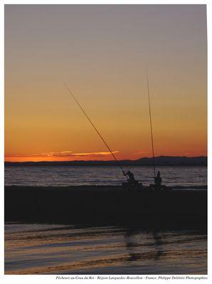 Pêcheurs au crépuscule