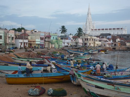 Pêcheurs du Cap Comorin