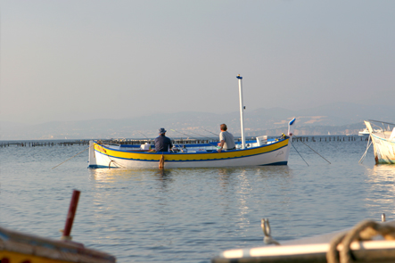 pêcheurs sur un pointu