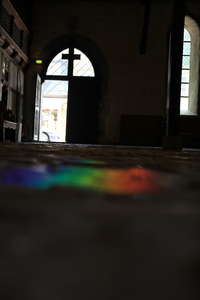 peace in den heiligen Hallen