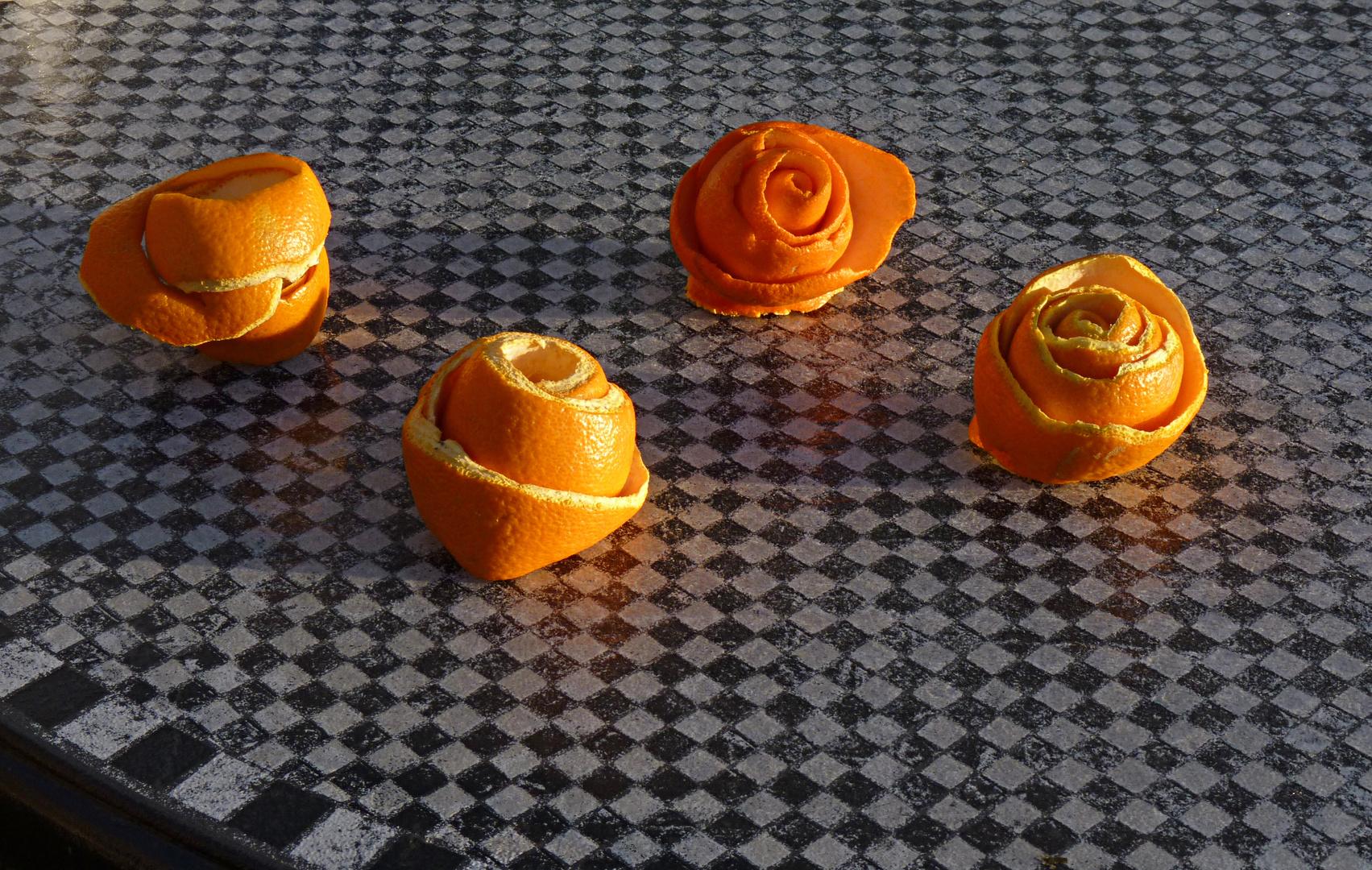 peaux d'oranges ©