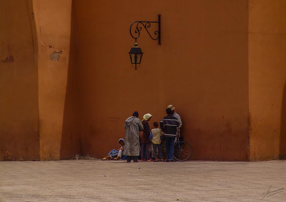 Pedigüeños (Marrakech Marruecos)