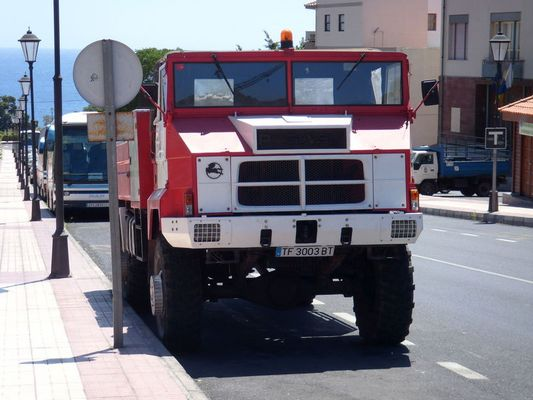 Pegaso Sonderfahrzeug (gesehen in La Calera auf La Gomera)