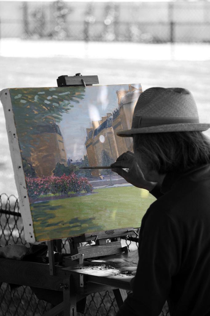 Peindre en couleur