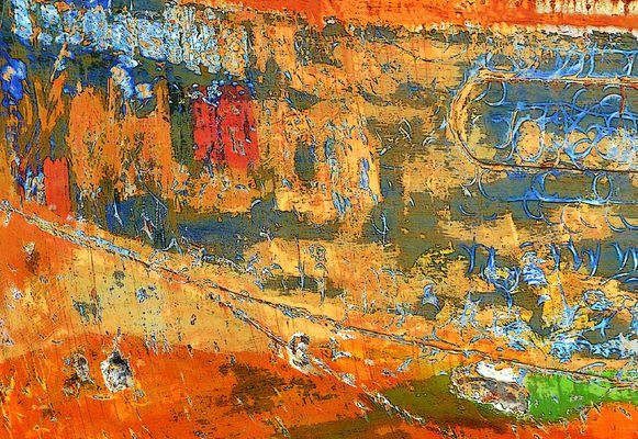 Peinture sur coque