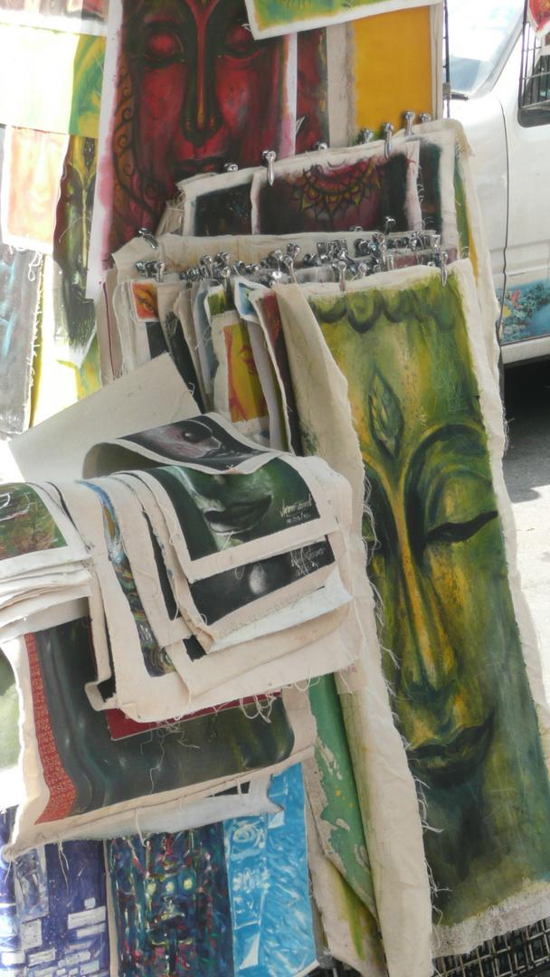 peintures à l'éfigie de bouddha