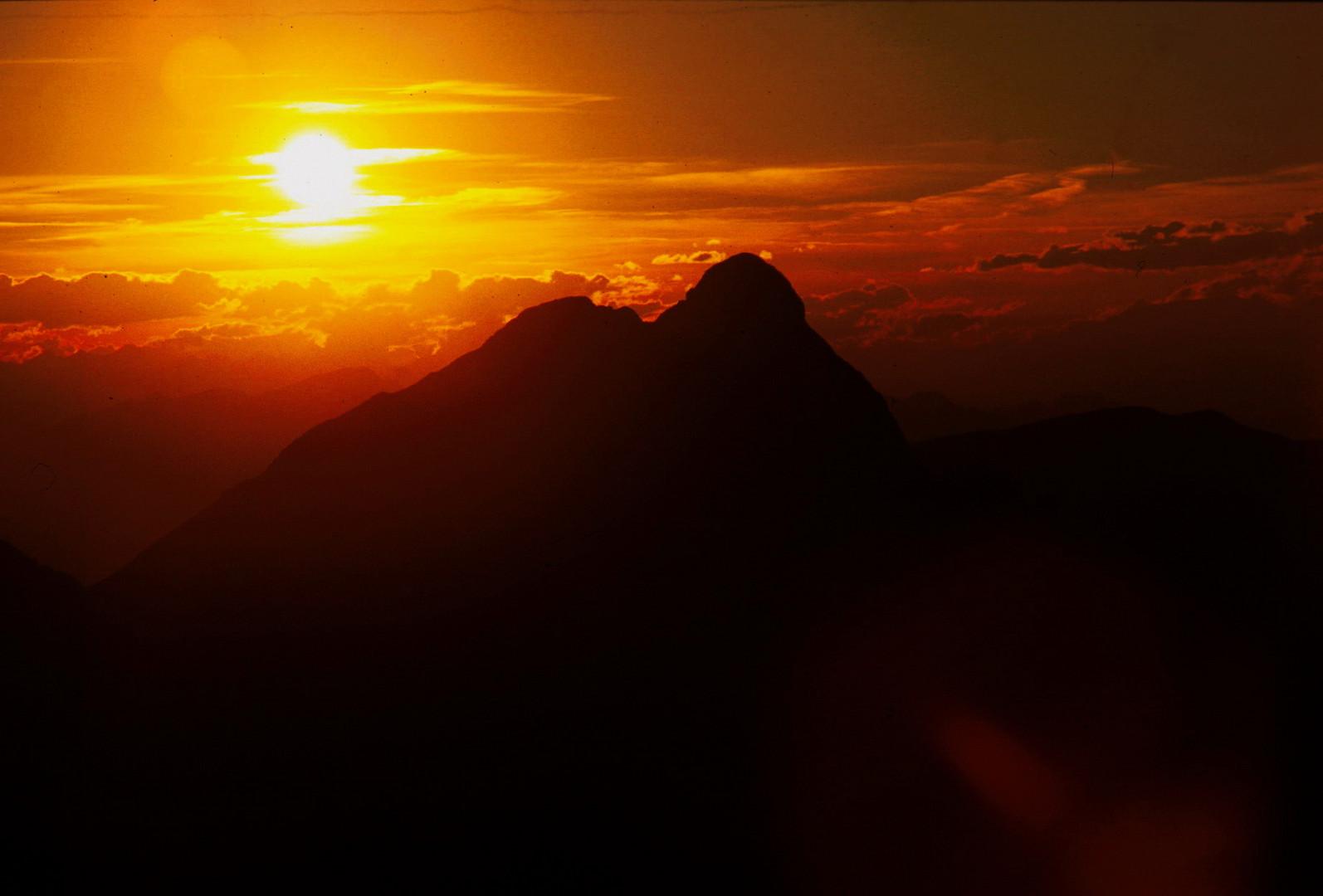 Peitlerkofel Sunset
