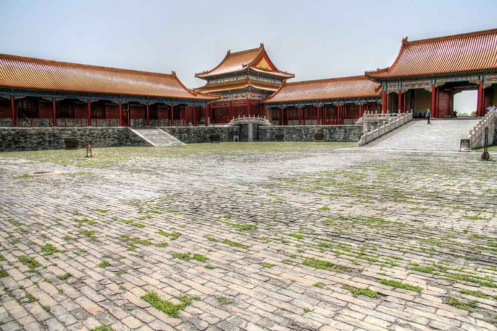 Peking Kaiserpalast Einsamkeit